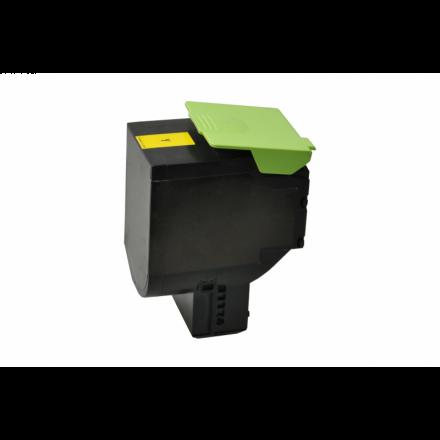 Lexmark 70C2HY0 toner geel XL Eeko Print (huismerk)