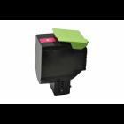 Lexmark 80C2SM0 toner magenta (huismerk)