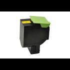Lexmark 80C2SY0 toner geel (huismerk)